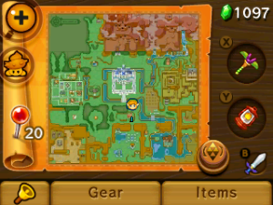 The overworld map from A Link to the Past makes a return
