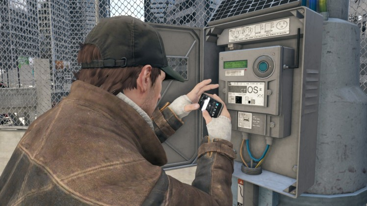 Aiden Pearce and the magic phone