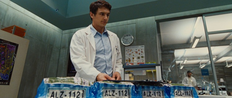 Franco and his smart monkey making, human-killing drug. Truly he is the best scientist.